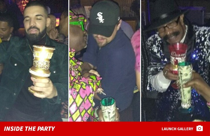 Inside Drake's Birthday Party