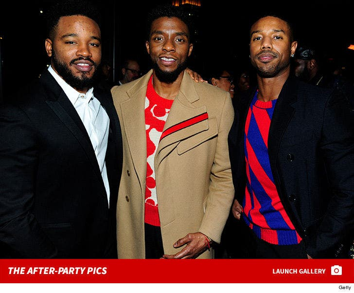 'Black Panther' After-Party Pictures
