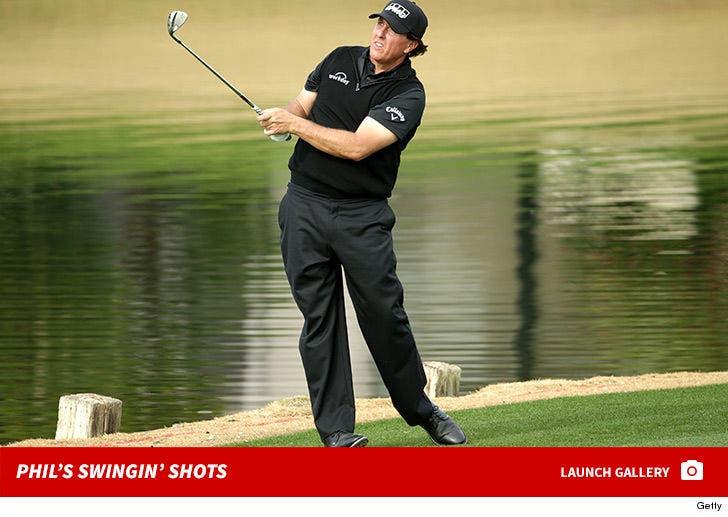 Phil Mickelson's Swingin' Shots