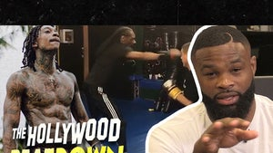UFC's Tyron Woodley Breaks Down Snoop's MMA Sparring Sesh