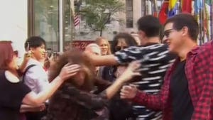 Steven Tyler Swarmed by Fans as Aerosmith Announces Vegas Residency