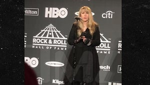 Stevie Nicks Says Harry Styles Was in 'NSYNC At Rock and Roll HOF Induction