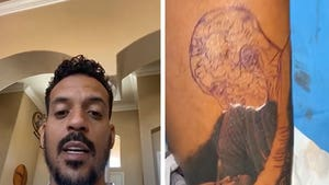 Matt Barnes Gets Kobe Bryant and Gianna Tattoo Tribute from Famous Artist