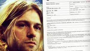 Kurt Cobain-Signed Home Insurance Policy From Death House Hits Auction