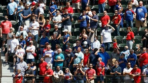 MLB Fans Pack Texas Rangers' Stadium, What Social Distancing?!