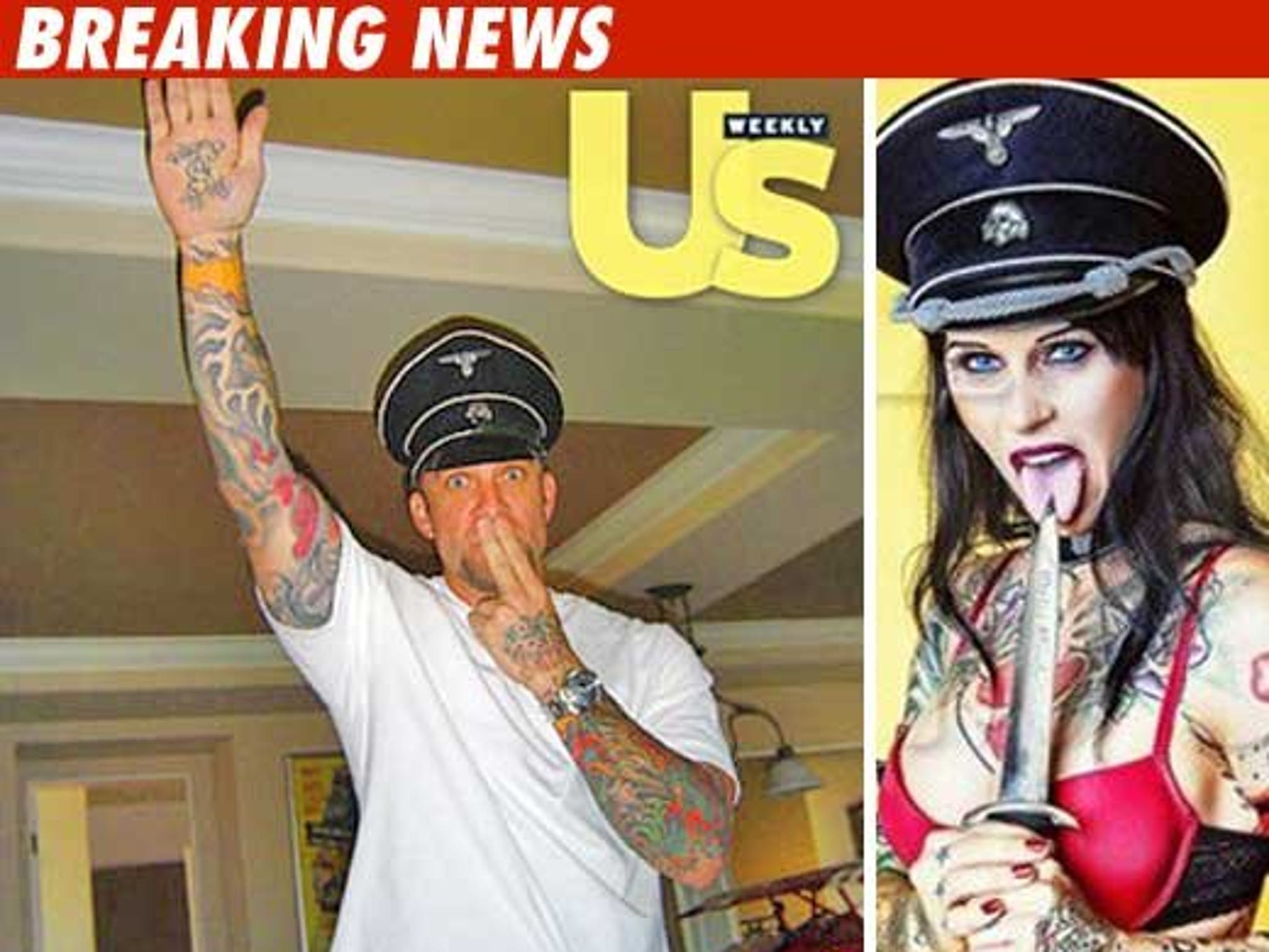 Jesse James -- The Photo You Did Nazi Coming
