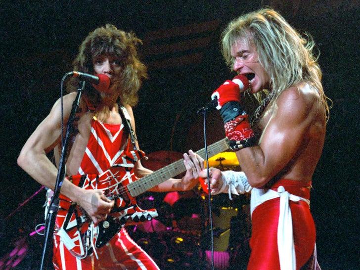 Van Halen's Rockin' Photos
