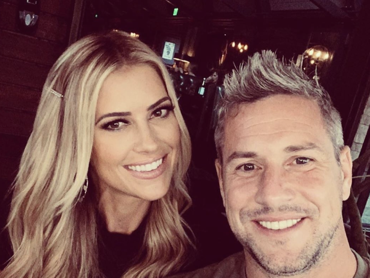 Christina El Moussa and Ant Anstead Together