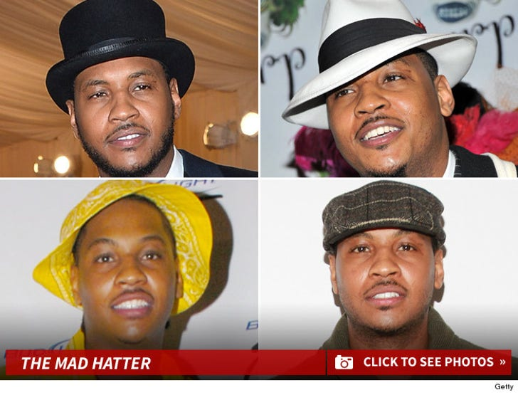 Carmelo Anthony -- The Mad Hatter