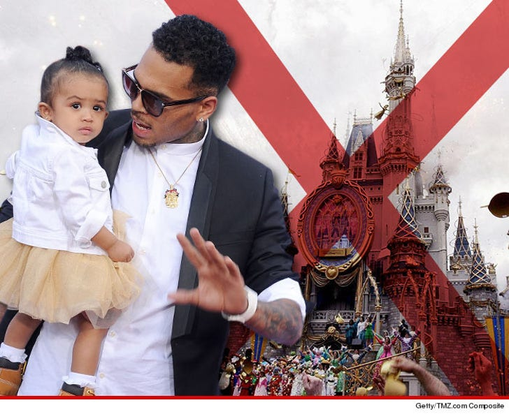 Chris Brown – Baby Mama Nixed Fab Disney World Birthday for