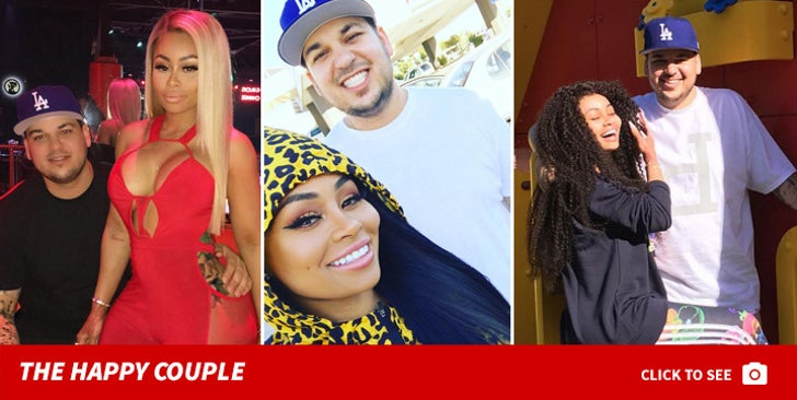 Rob Kardashian and Blac Chyna -- Happier Times