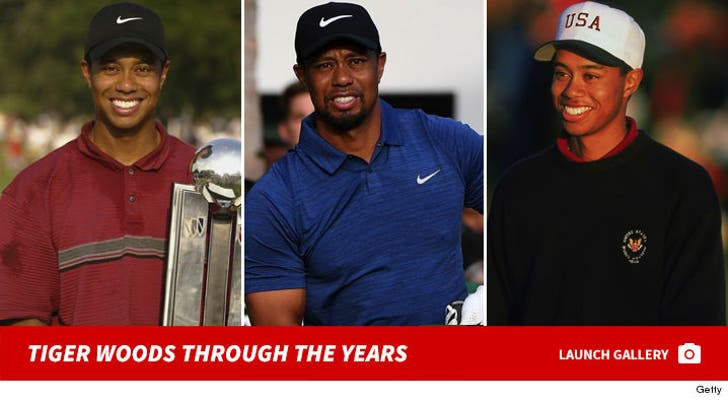Tiger Woods Through The Years