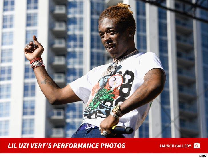 Lil Uzi Vert's Performance Photos