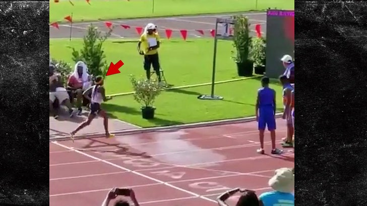 Chad Johnson's Daughter Smashes 800m Record for Age Group