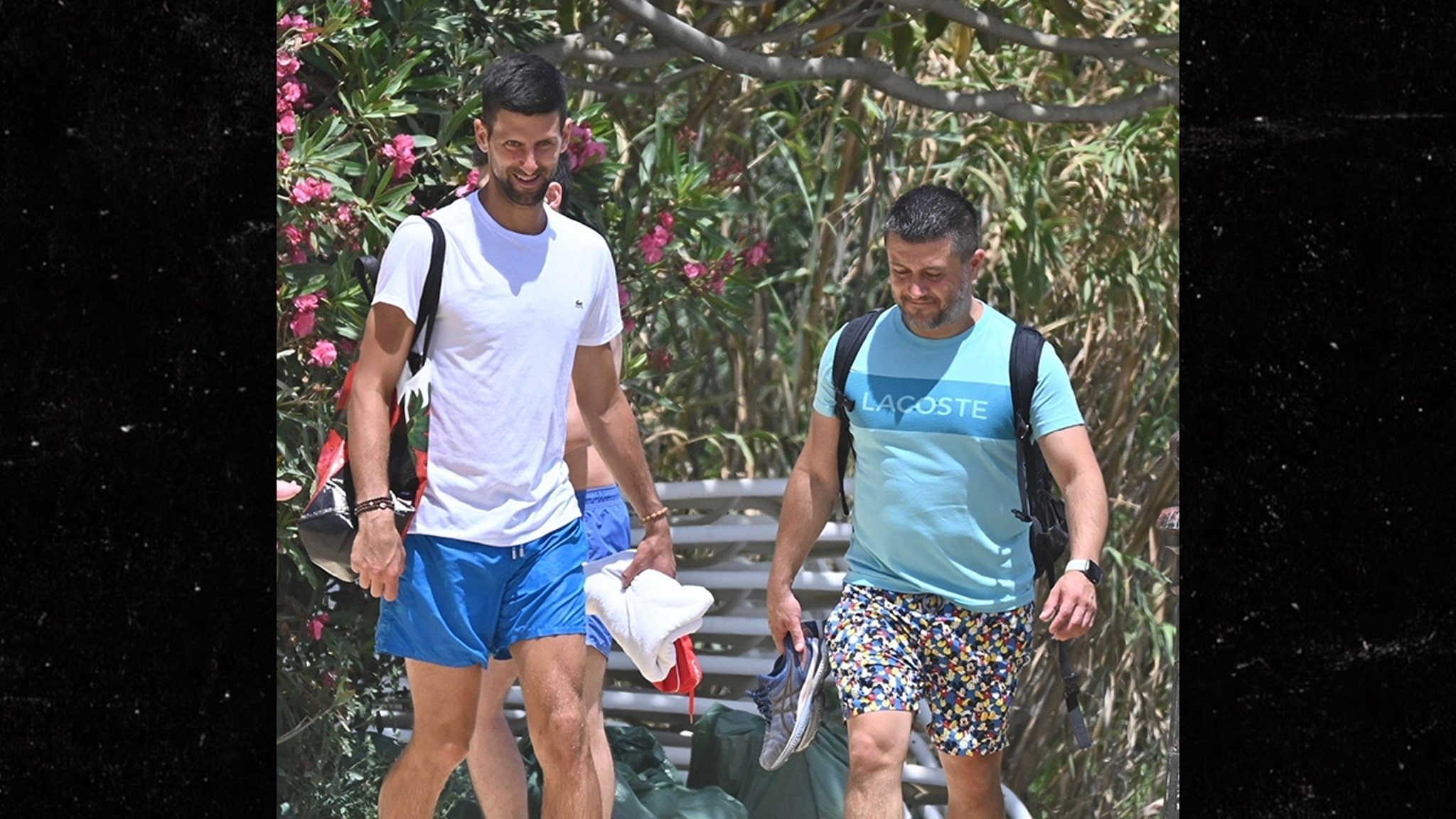 Novak Djokovic Blows Off Mask, Social Distancing in Spain After COVID Incident