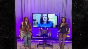 Kamala Harris' Surprise Appearance For Brandy and Monica Verzuz Battle