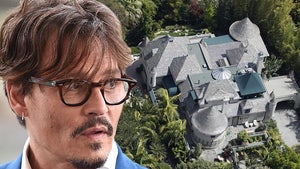 Johnny Depp's Home Broken Into, Man Makes Drink and Takes Shower