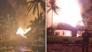 Joe Francis' Mexican Property Casa Aramara Catches Fire, Crazy Blaze