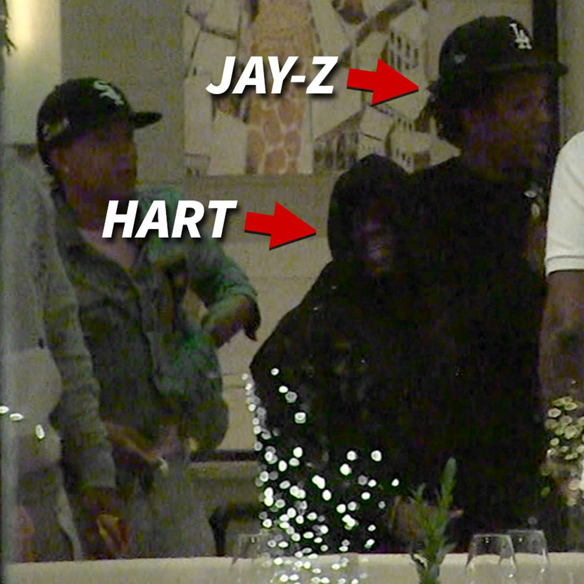 Kevin Hart and Jay-Z Hang Out for Poker and Dinner in L.A.