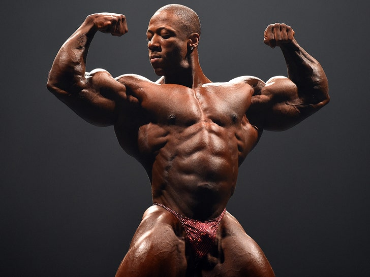 Mr  Olympia' Shawn Rhoden Charged with Rape, Eligibility Revoked