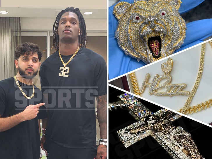 NFL Rookies  -- Jacked Up Jewelry