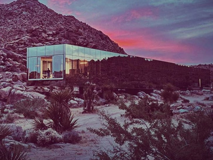 Invisible House in Joshua Tree -- The Shiny Estate