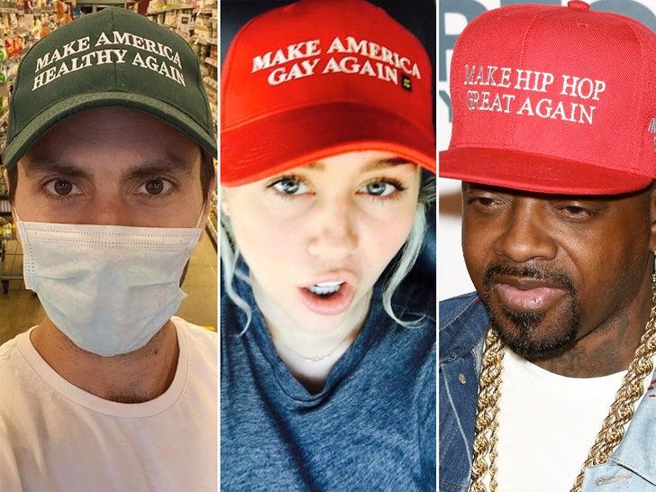Stars Parody MAGA Hats