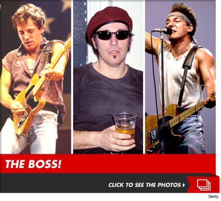 The Boss -- Bruce Springsteen Rock Photos