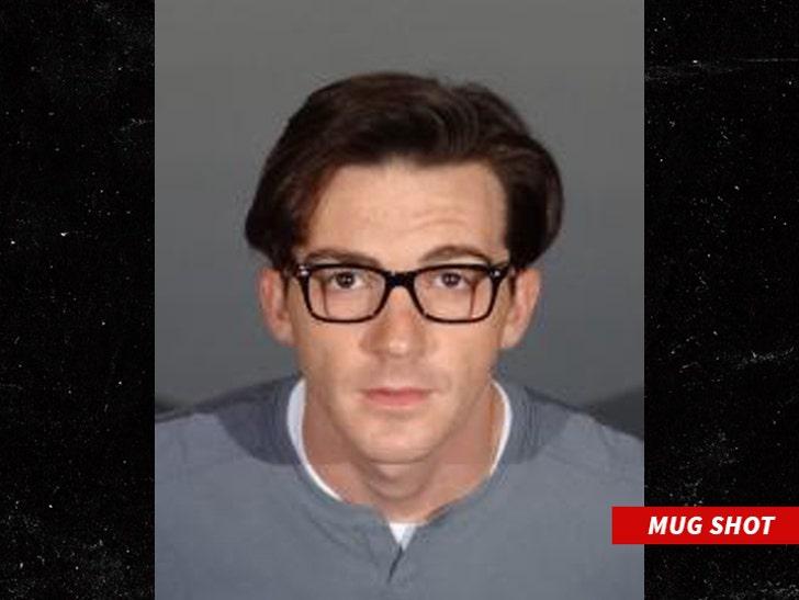 Drake Bell Got His Clark Kent On in Mug Shot