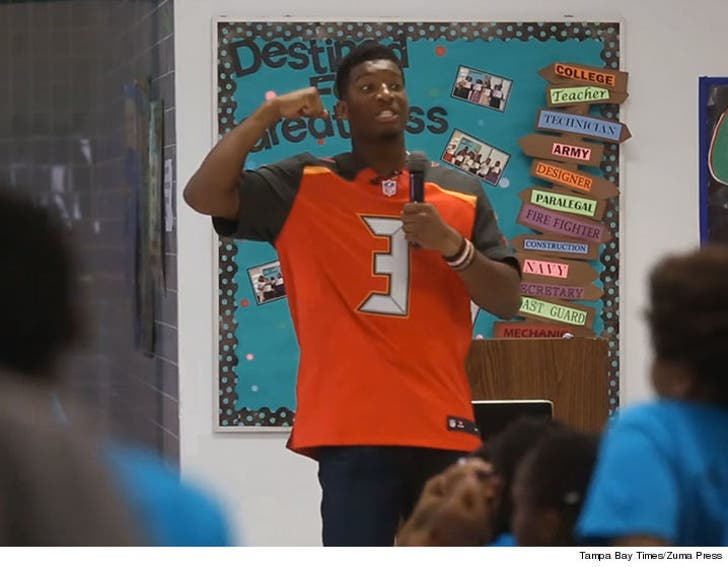 1b0a780d Jameis Winston Speech to Kids -- Boys Should Be Strong, GIRLS SHOULD ...