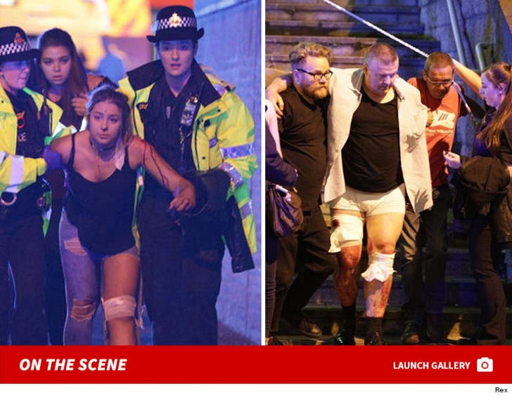 Manchester Arena 'Explosion' -- On the Scene