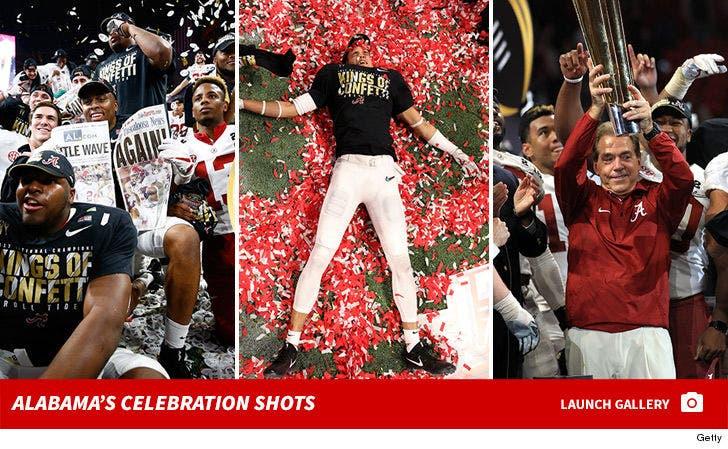 Alabama's Celebration Shots