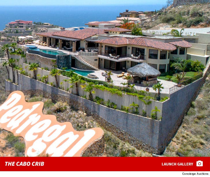 Jason Giambi's Baller Cabo Pad Hits Auction Block