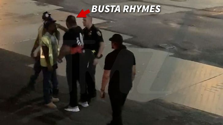 Busta Rhymes Gets Heated After Man Hurls Homophobic Slur