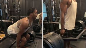 Myles Garrett Deadlifts 655 Pounds With Ease, Three Times?!