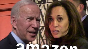 Amazon Yanks Misogynistic Shirts Attacking Kamala Harris, 'Joe & the Hoe'