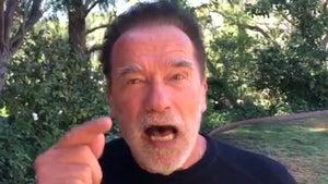 Arnold Schwarzenegger Pissed More People Don't Visit Deceased Vets