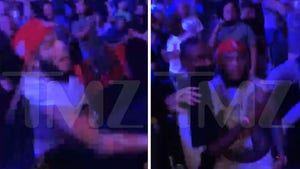 6ix9ine Gets Drink Thrown at Him, Chucks His Right Back at UFC Fight