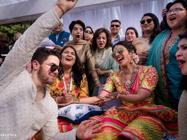 Priyanka Chopra and Nick Jonas's Celebration