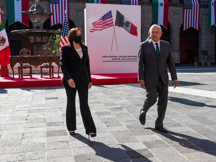 VP Kamala Harris In Mexico