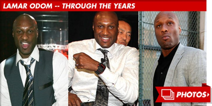 Lamar Odom -- Through the Years