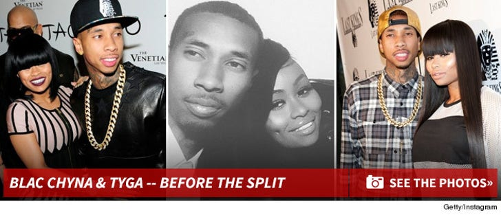 Tyga & Blac Chyna -- Before The Split