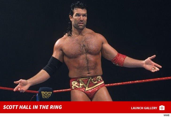 Scott Hall -- Wrestling Shots