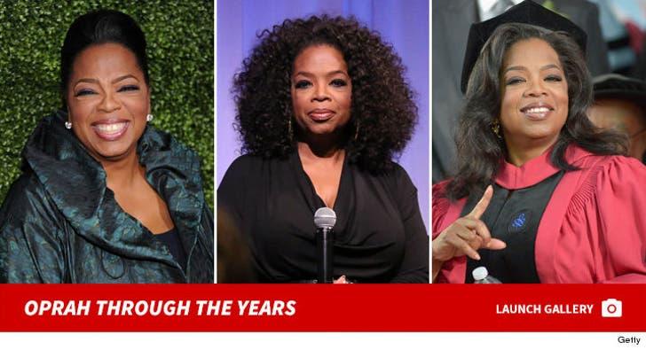 Oprah Winfrey -- Through the Years