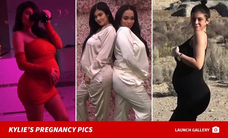 Kylie Jenner's Pregnancy Photos
