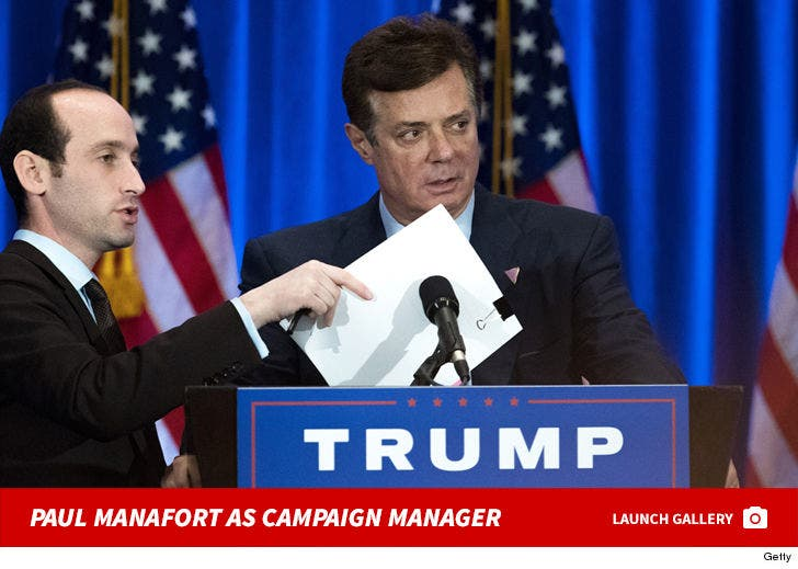 Paul Manafort As Campaign Manager