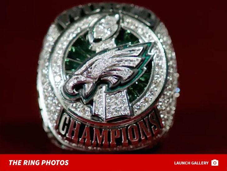 Philadelphia Eagles Super Bowl Rings