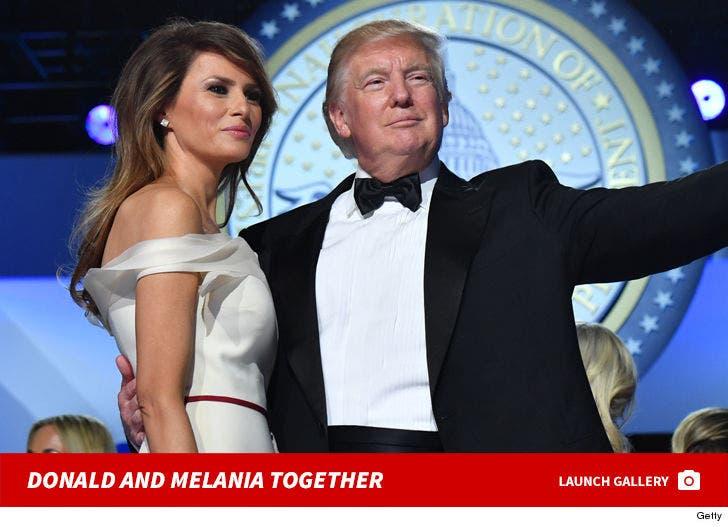 Donald And Melania Trump -- Together Photos