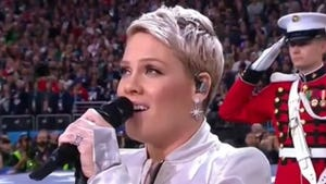 P!nk Nails Super Bowl LII National Anthem Despite Battling Flu