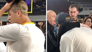 Jared Goff Gets Emotional With Thousand Oaks Shooting Victims After Win